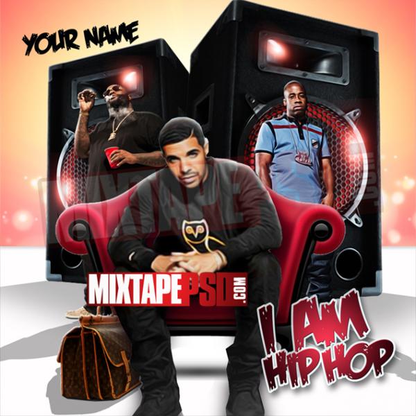 Mixtape Template I Am Hip Hop
