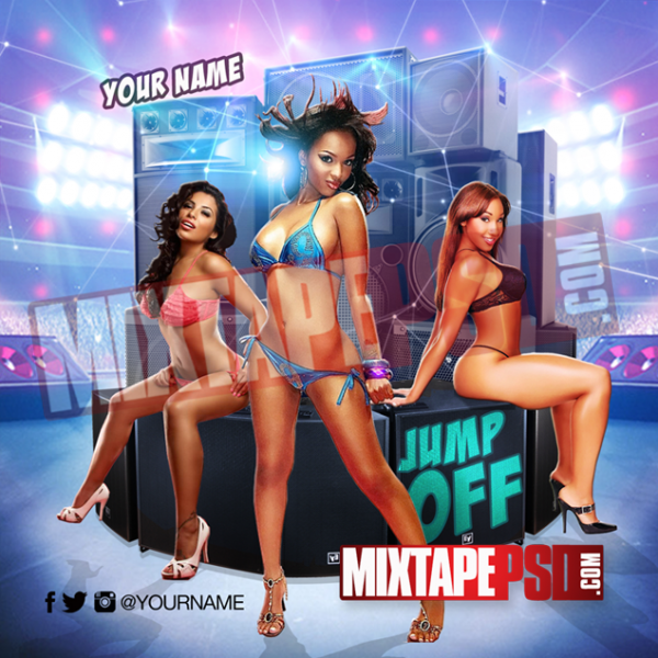 Mixtape Cover Template Jump Off 17, Album Covers, Graphic Design, Graphic Designer, How to Make a Mixtape Cover, Mixtape, Mixtape cover Maker, Mixtape Cover Templates, Mixtape Covers, Mixtape Designer, Mixtape Designs, Mixtape PSD, Mixtape Templates, Mixtapepsd, Mixtapes, Premade Mixtape Covers, Premade Single Covers, PSD Mixtape, Custom Mixtape Covers