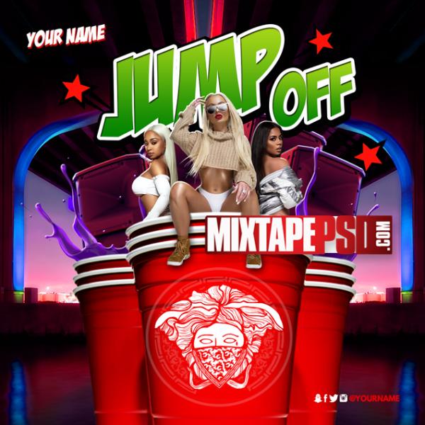 Mixtape Template Jump Off 22, Album Covers, Graphic Design, Graphic Designer, How to Make a Mixtape Cover, Mixtape, Mixtape cover Maker, Mixtape Cover Templates, Mixtape Covers, Mixtape Designer, Mixtape Designs, Mixtape PSD, Mixtape Templates, Mixtapepsd, Mixtapes, Premade Mixtape Covers, Premade Single Covers, PSD Mixtape, free mixtape cover psd templates