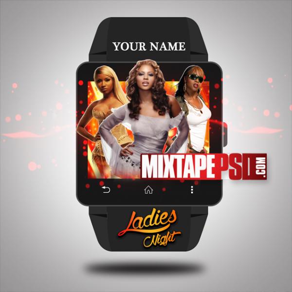 Mixtape Template Ladies Night 3