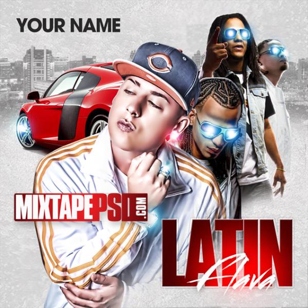 Mixtape Template Latin Flava