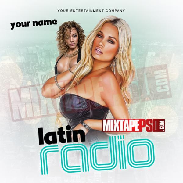 Mixtape Cover Template Latin Radio 11