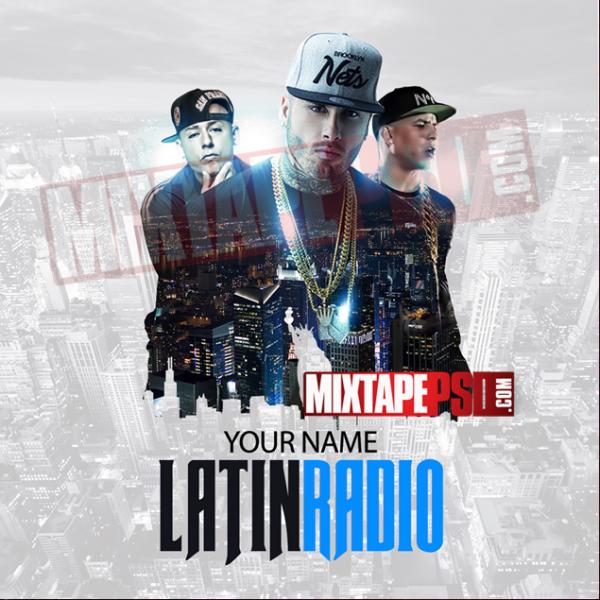 Mixtape Cover Template Latin Radio 6