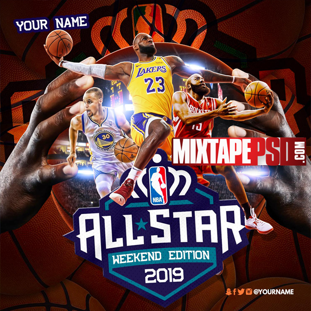Mixtape Cover Template Allstar Weekend