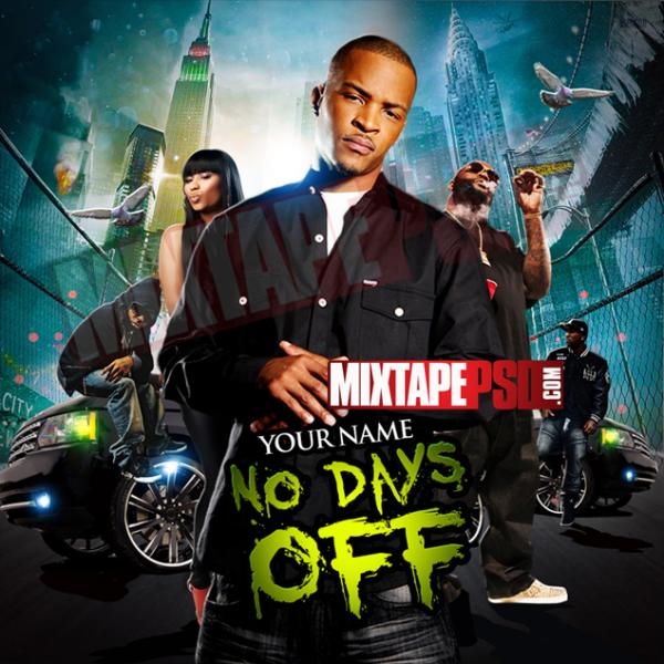 Mixtape Template No Days Off 2