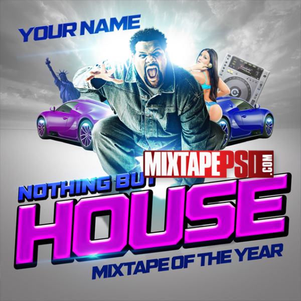 Mixtape Template Nothing But House