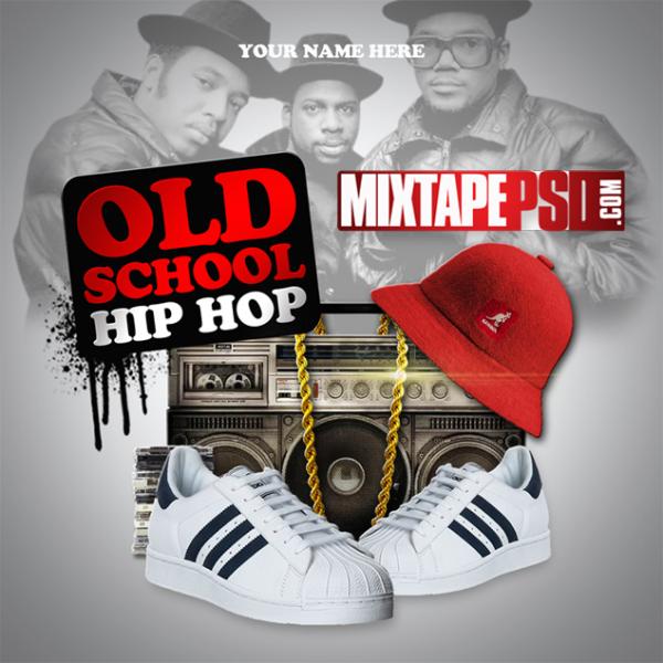 Mixtape Template Old School Hip Hop
