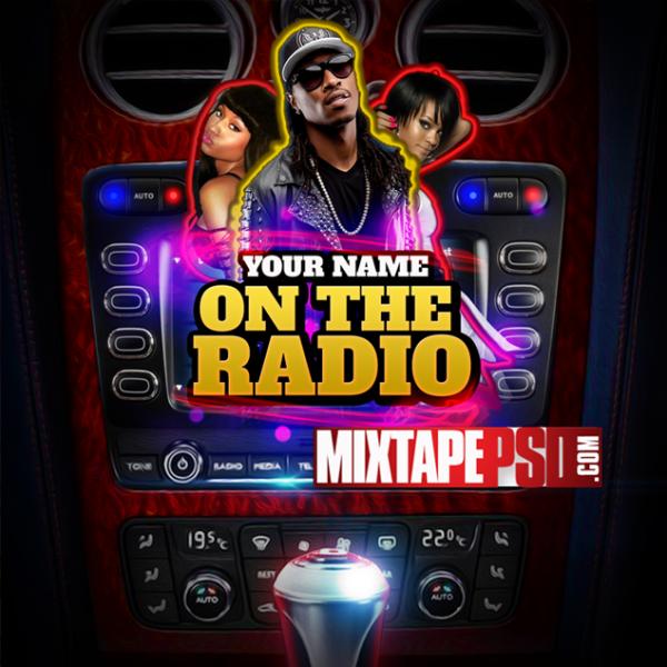 Mixtape Template On the Radio