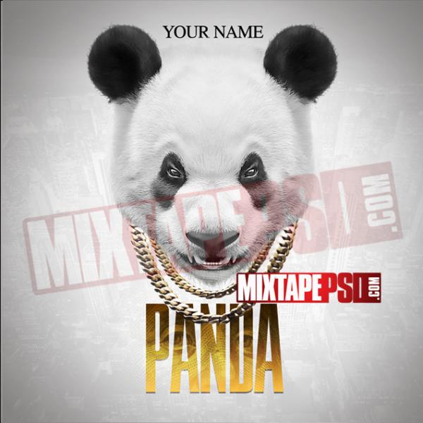 Mixtape Cover Template Panda