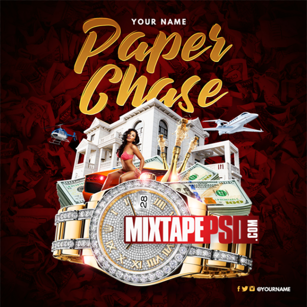Mixtape Cover Template Paper Chase 9, Album Covers, Graphic Design, Graphic Designer, How to Make a Mixtape Cover, Mixtape, Mixtape cover Maker, Mixtape Cover Templates, Mixtape Covers, Mixtape Designer, Mixtape Designs, Mixtape PSD, Mixtape Templates, Mixtapepsd, Mixtapes, Premade Mixtape Covers, Premade Single Covers, PSD Mixtape, free mixtape cover psd templates