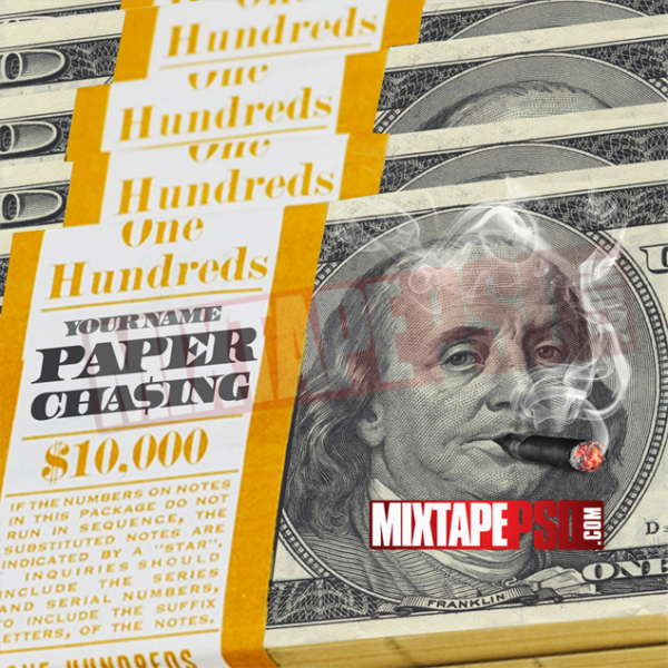 Mixtape Cover Template Paper Chasing 5