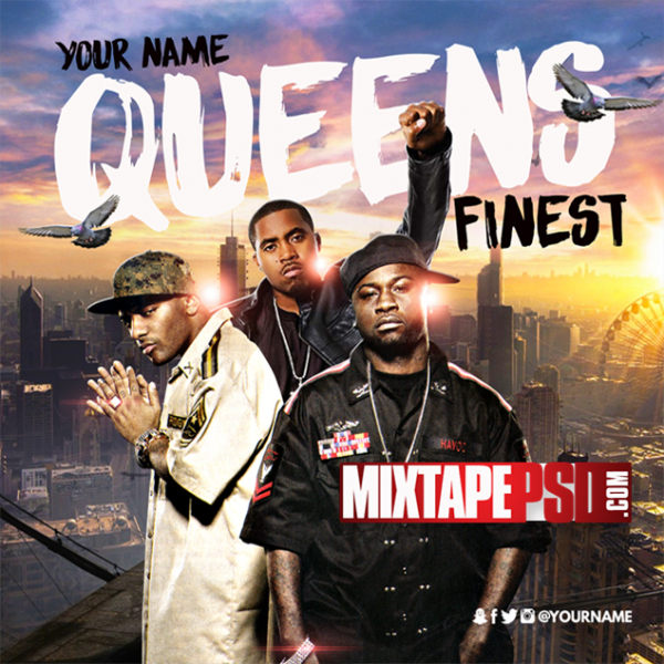 Mixtape Cover Template Queens Finest, Album Covers, Graphic Design, Graphic Designer, How to Make a Mixtape Cover, Mixtape, Mixtape cover Maker, Mixtape Cover Templates, Mixtape Covers, Mixtape Designer, Mixtape Designs, Mixtape PSD, Mixtape Templates, Mixtapepsd, Mixtapes, Premade Mixtape Covers, Premade Single Covers, PSD Mixtape, free mixtape cover psd templates