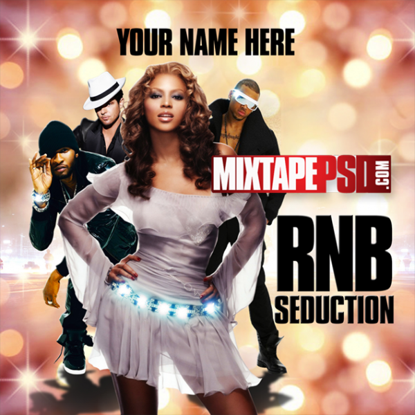 Mixtape Template RNB Seduction