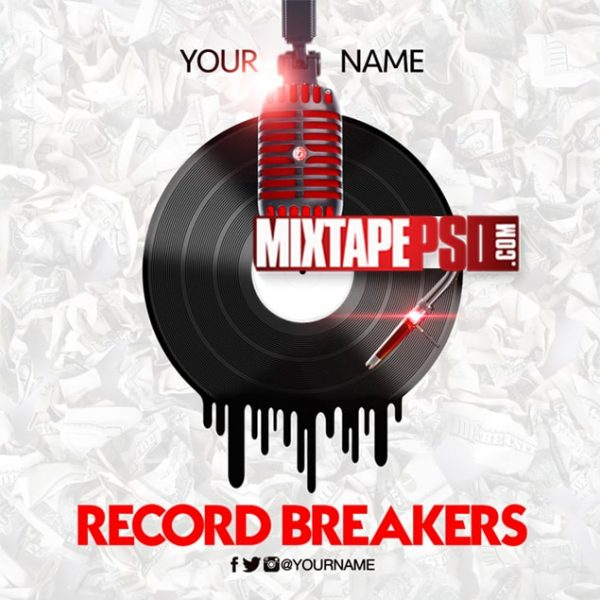 Mixtape Template Record Breakers 2, Hip Hop Templates, Mixtape Template Hip Hop Radio 94, Mixtape PSD Free, Album Covers, Graphic Design, Graphic Designer, How to Make a Mixtape Cover, Mixtape, Mixtape cover Maker, Mixtape Cover Templates, Mixtape Covers, Mixtape Designer, Mixtape Designs, Mixtape PSD, Mixtape Templates, Mixtapepsd, Mixtapes, Premade Mixtape Covers, Premade Single Covers, PSD Mixtape, free mixtape cover psd templates