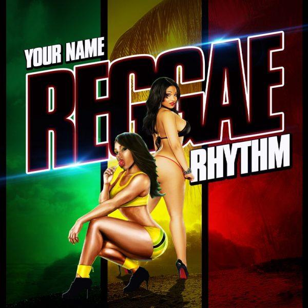 Mixtape Template Reggae Rhythm 3