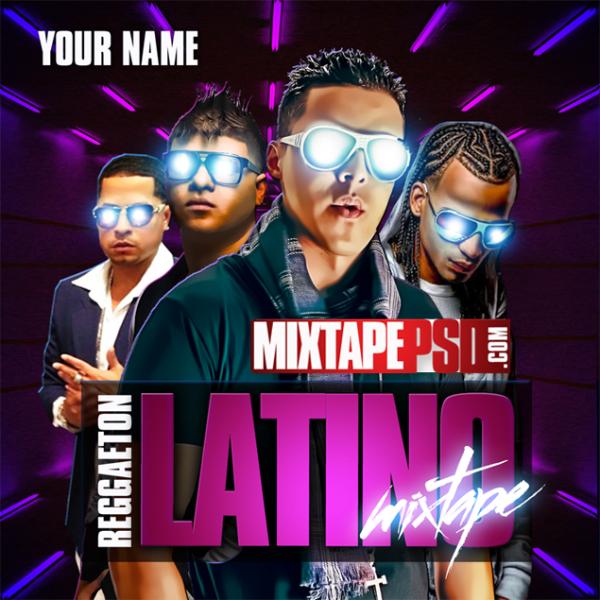 Mixtape Template Reggaeton Latino