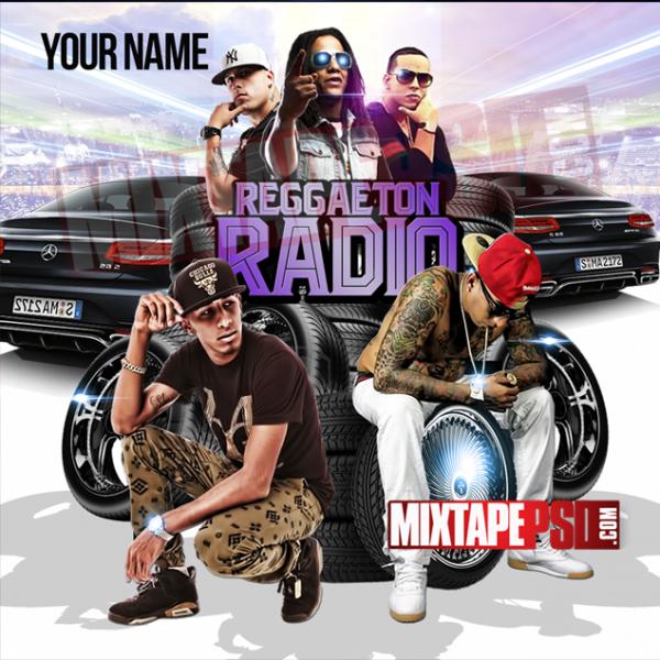 Mixtape Template Reggaeton Radio 7