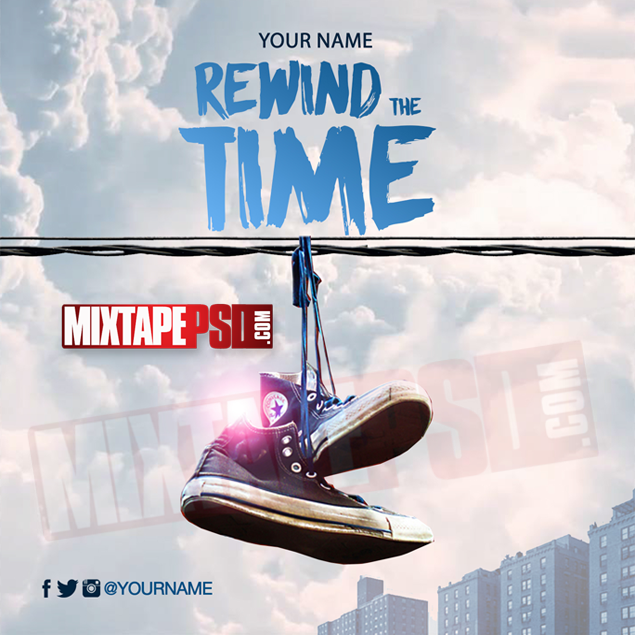Mixtape Cover Template Rewind The Time