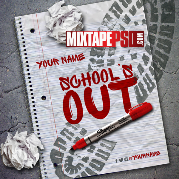 Mixtape Cover Template Schools Out, Mixtape Covers, Mixtape Templates, Mixtape PSD, Mixtape Cover Maker, Mixtape Templates Free, Free Mixtape Templates, Free Mixtape Covers, Free Mixtape PSDs, Mixtape Cover Templates PSD Free, Mixtape Cover Template PSD Download, Mixtape Cover Template for Sale, Mixtape Cover Template Design, Cheap Mixtape Cover Template, Money Mixtape Cover Template, Mixtape Flyer Template, Mixtape PSD Template, Mixtape PSD Covers, Mixtape PSD Download, Mixtape PSD Model, graphic design, logo design, Mixtape, Album Cover Template, Mixtape Cover Designer, Photoshop, Chief Keef, French Montana, Juicy J, Template, Templates, Album Cover Maker, CD Cover Templates, DJ Mix, cd Cover Maker, CD Cover Dimensions, cd case template, video tutorials, Mixtape Cover Backgrounds, Custom Mixtape Covers