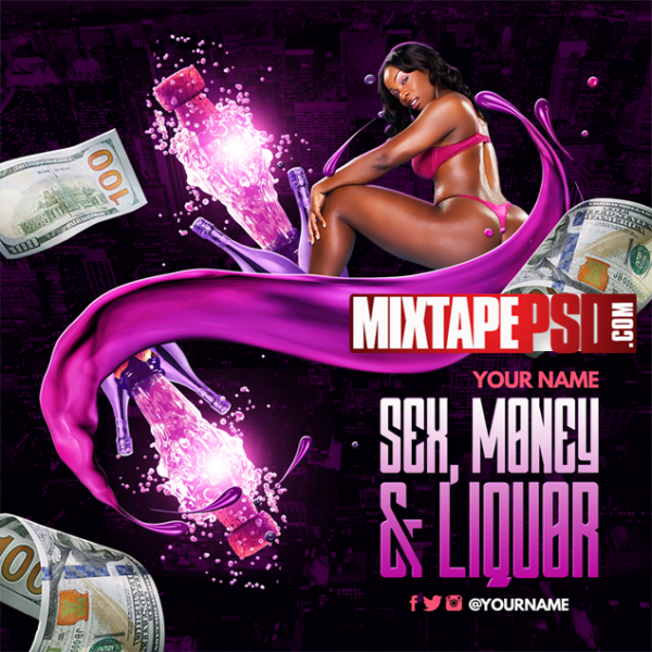 Mixtape Template Sex Money and Liquor 2, Album Covers, Graphic Design, Graphic Designer, How to Make a Mixtape Cover, Mixtape, Mixtape cover Maker, Mixtape Cover Templates, Mixtape Covers, Mixtape Designer, Mixtape Designs, Mixtape PSD, Mixtape Templates, Mixtapepsd, Mixtapes, Premade Mixtape Covers, Premade Single Covers, PSD Mixtape,