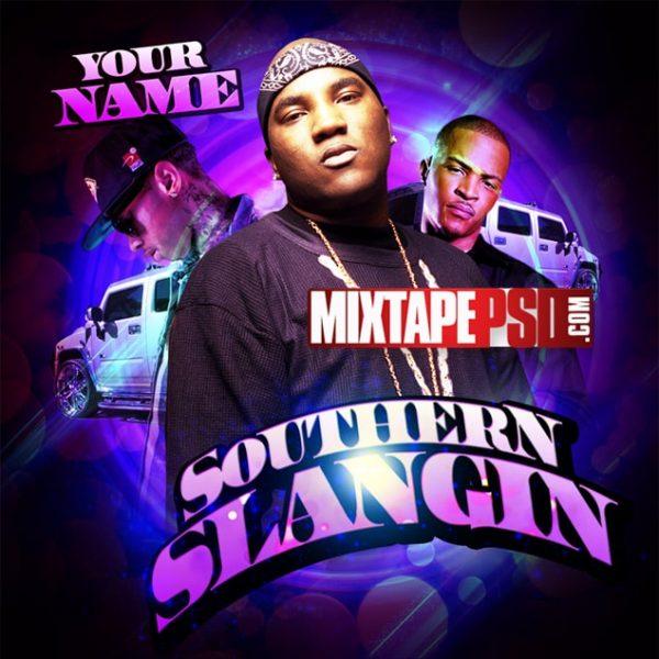 Mixtape Template Southern Slang 2