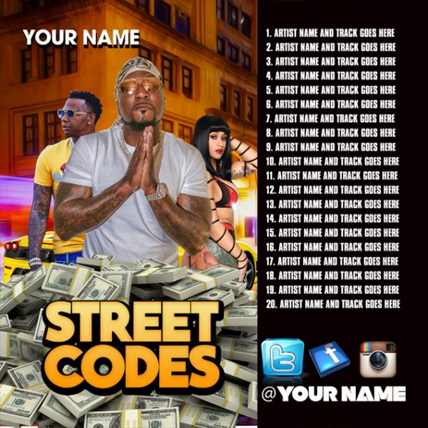 Mixtape Template Street Codes