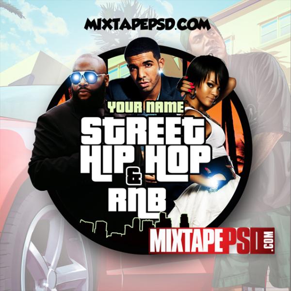 Mixtape Template Street Hip Hop & RNB