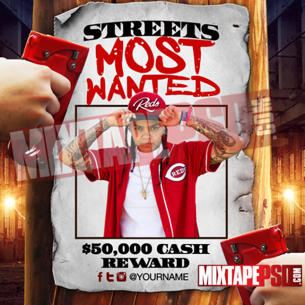 Mixtape Template Streets Most Wanted, Album Covers, Graphic Design, Graphic Designer, How to Make a Mixtape Cover, Mixtape, Mixtape cover Maker, Mixtape Cover Templates, Mixtape Covers, Mixtape Designer, Mixtape Designs, Mixtape PSD, Mixtape Templates, Mixtapepsd, Mixtapes, Premade Mixtape Covers, Premade Single Covers, PSD Mixtape, free mixtape cover psd templates