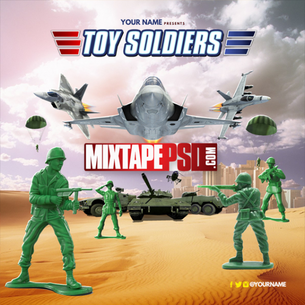 Mixtape Template Toy Soldiers, Album Covers, Graphic Design, Graphic Designer, How to Make a Mixtape Cover, Mixtape, Mixtape cover Maker, Mixtape Cover Templates, Mixtape Covers, Mixtape Designer, Mixtape Designs, Mixtape PSD, Mixtape Templates, Mixtapepsd, Mixtapes, Premade Mixtape Covers, Premade Single Covers, PSD Mixtape,