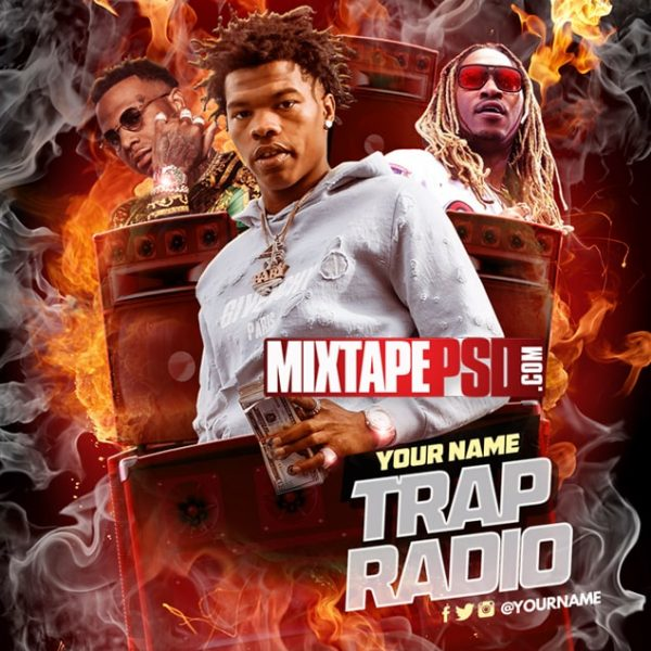 Mixtape Cover Template Trap Radio 7, Album Covers, Graphic Design, Graphic Designer, How to Make a Mixtape Cover, Mixtape, Mixtape cover Maker, Mixtape Cover Templates, Mixtape Covers, Mixtape Designer, Mixtape Designs, Mixtape PSD, Mixtape Templates, Mixtapepsd, Mixtapes, Premade Mixtape Covers, Premade Single Covers, PSD Mixtape,