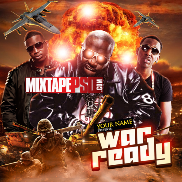 Mixtape Cover Template War Ready 3, Album Covers, Graphic Design, Graphic Designer, How to Make a Mixtape Cover, Mixtape, Mixtape cover Maker, Mixtape Cover Templates, Mixtape Covers, Mixtape Designer, Mixtape Designs, Mixtape PSD, Mixtape Templates, Mixtapepsd, Mixtapes, Premade Mixtape Covers, Premade Single Covers, PSD Mixtape,
