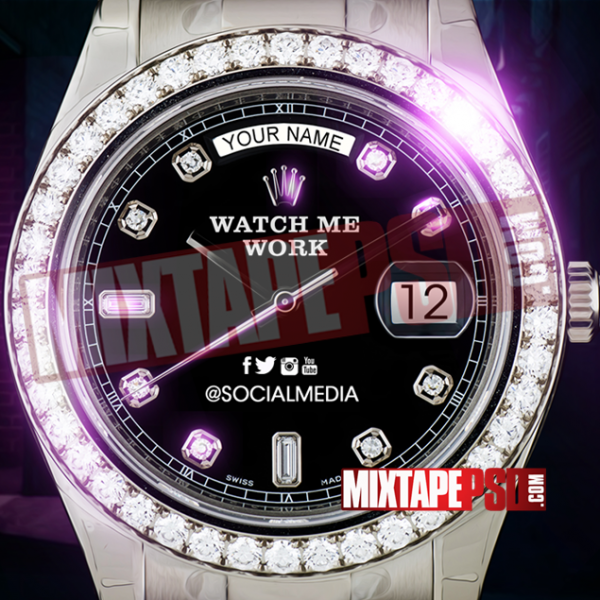 Mixtape Cover Template Watch Me Work 2