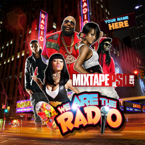 Mixtape Template We Are Radio