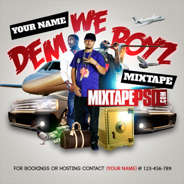 Mixtape Template We Dem Boyz