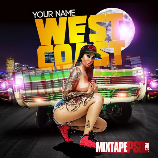 Mixtape Cover Template West Coast