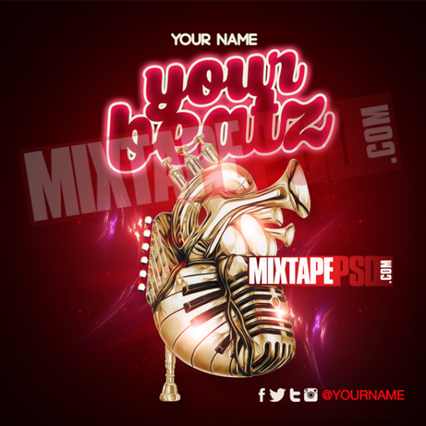 Mixtape Cover Template Your Beats 17, Album Covers, Graphic Design, Graphic Designer, How to Make a Mixtape Cover, Mixtape, Mixtape cover Maker, Mixtape Cover Templates, Mixtape Covers, Mixtape Designer, Mixtape Designs, Mixtape PSD, Mixtape Templates, Mixtapepsd, Mixtapes, Premade Mixtape Covers, Premade Single Covers, PSD Mixtape, Custom Mixtape Covers