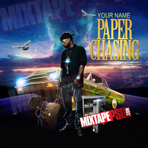 Mixtape Template Paper Chasing, Album Covers, Graphic Design, Graphic Designer, How to Make a Mixtape Cover, Mixtape, Mixtape cover Maker, Mixtape Cover Templates, Mixtape Covers, Mixtape Designer, Mixtape Designs, Mixtape PSD, Mixtape Templates, Mixtapepsd, Mixtapes, Premade Mixtape Covers, Premade Single Covers, PSD Mixtape, Custom Mixtape