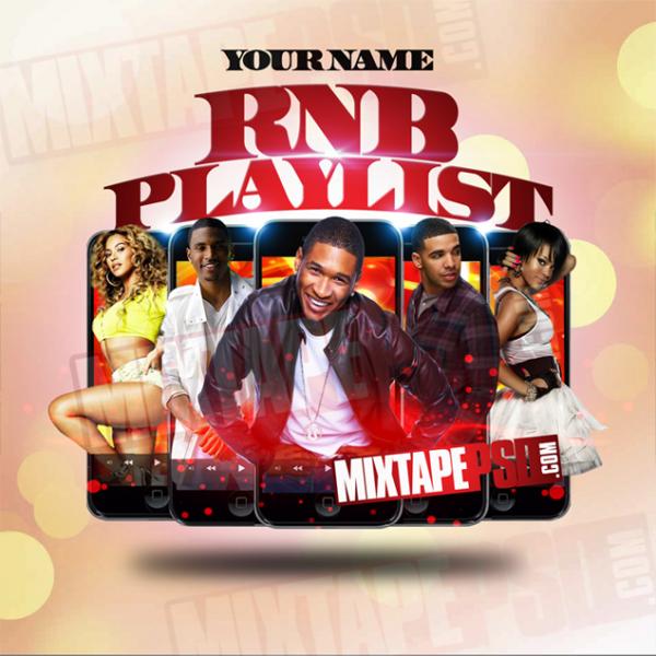 Mixtape Template RNB Playlist