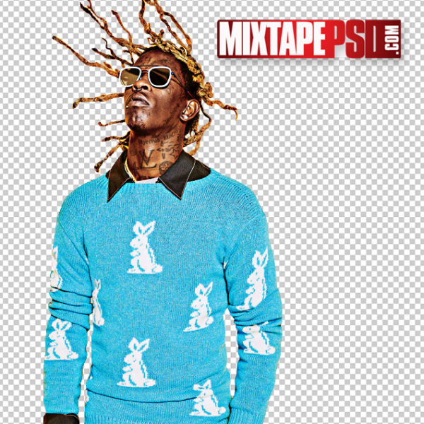 Young Thug Cut PNG