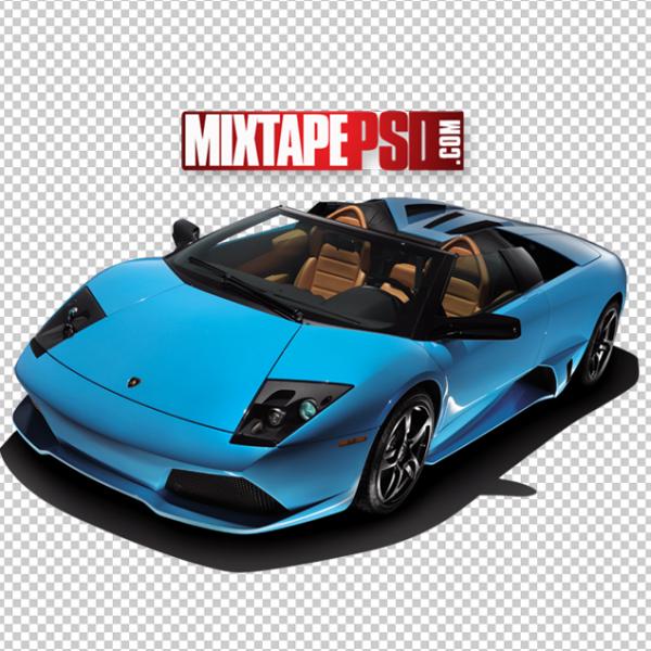 Cars, Convertible Lamborghini Cut PNG