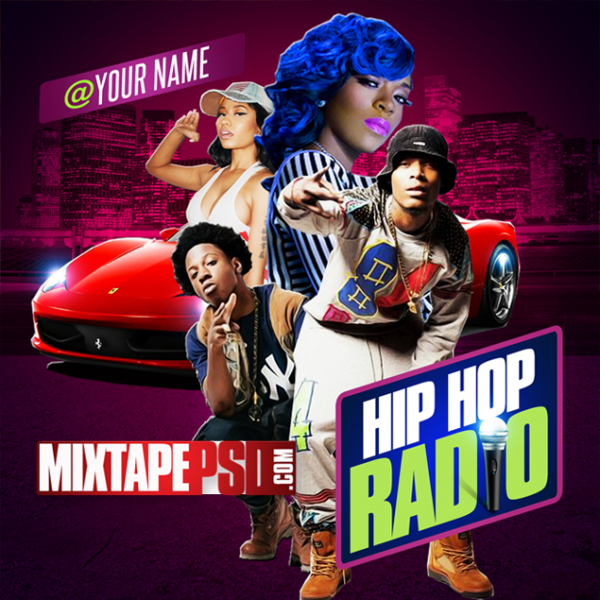 Free Mixtape Cover Template Hip Hop Radio 4