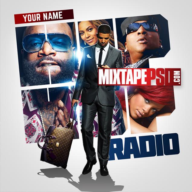 Mixtape Cover Template Hip Hop Radio 41