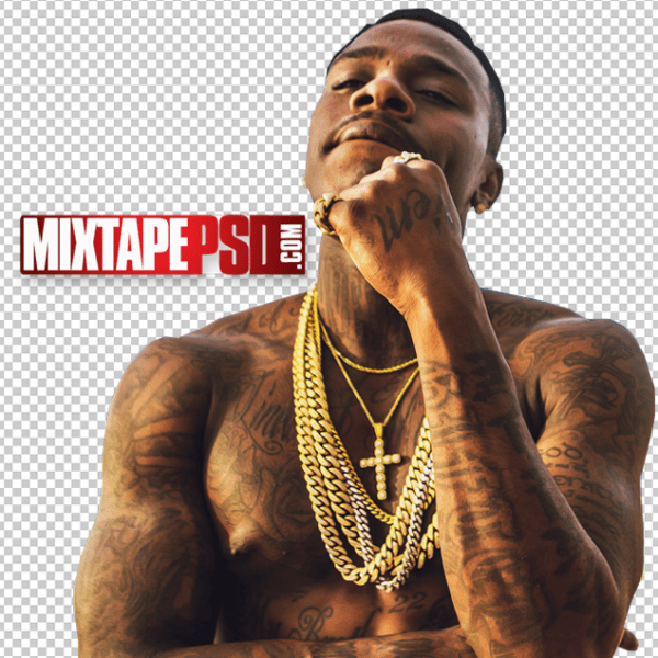 DaBaby Cut PNG 3