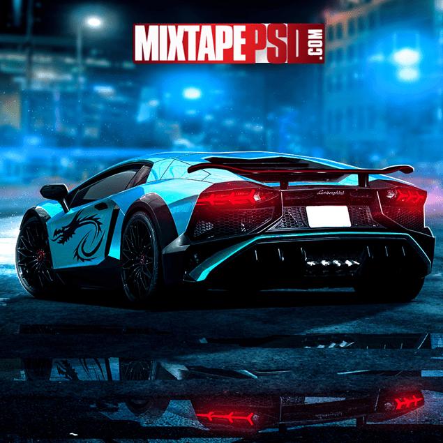 Lamborghini Aventador Background