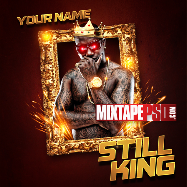 Mixtape Cover Template Still King