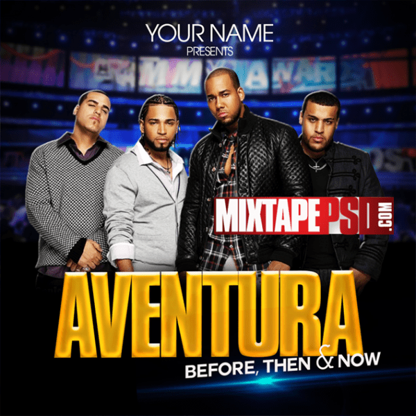 Free Mixtape Cover Template Aventura