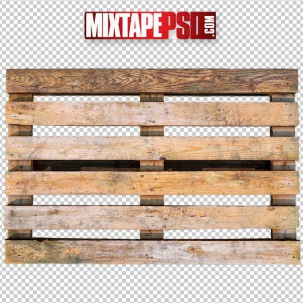 HD Wooden Pallet Cut PNG