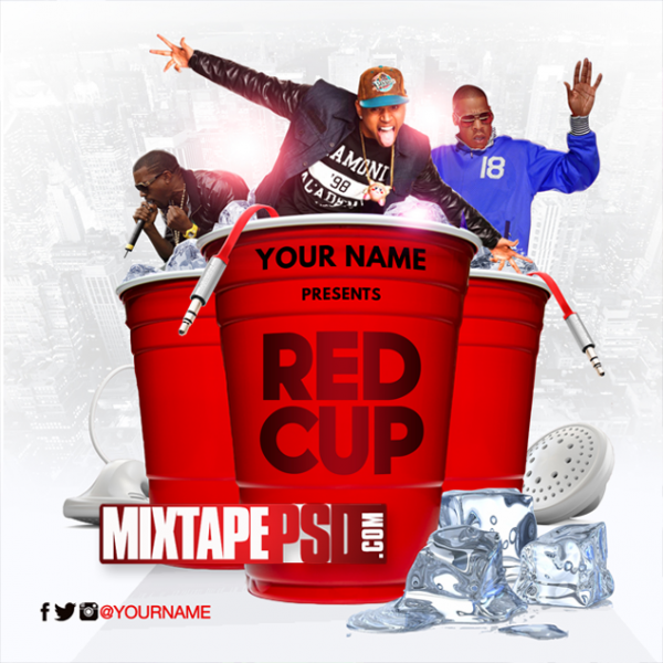Mixtape Cover Template Red Cup