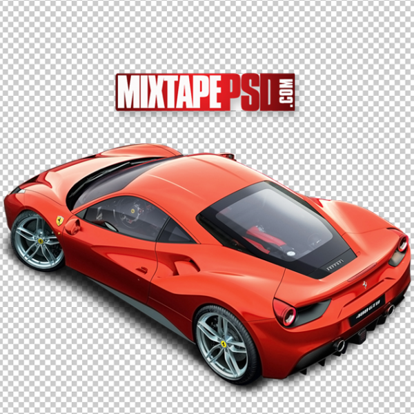 Red Ferrari Top View Cut PNG, Officialpsds, Officialpsd, png images free, png images transparent background, png images hd, png images for photoshop, png images website, png images for free download, png images download, png images background, png images examples, png images for editing, png images for download, PNG Images