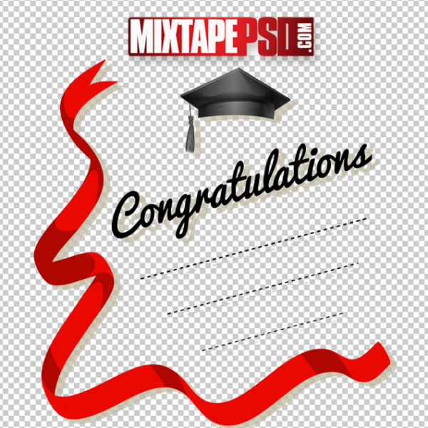 Red Ribbon Graduation Message Greeting Card, Graduation, Graduate, Graduation Logo, Officialpsds, Officialpsd, png images free, png images transparent background, png images hd, png images for photoshop, png images website, png images for free download, png images download, png images background, png images examples, png images for editing, png images for download, PNG Images
